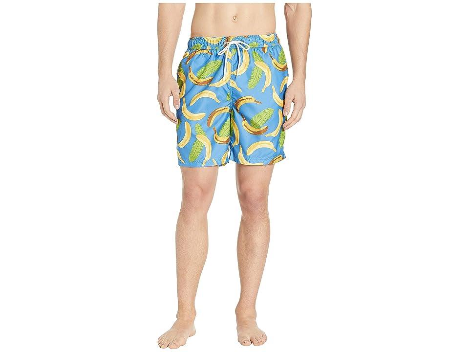 U.S. Surf Club Banana Swim Shorts (Blue) Men
