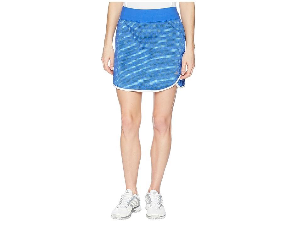 adidas Golf Rangewear Skort (Hi-Res Blue) Women