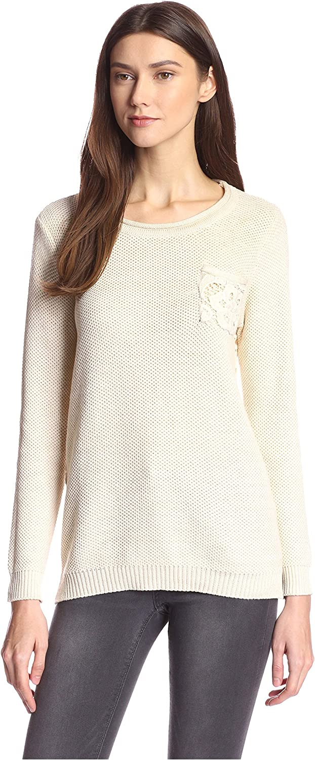 Zero Degrees Celsius Women's Sweater with Lace Back