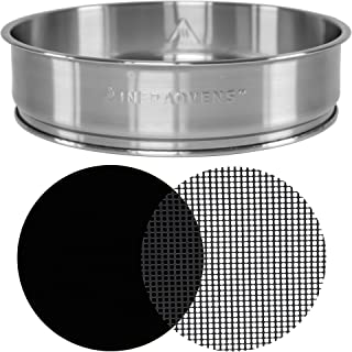 Extender Ring Compatible with NuWave Oven Pro Plus and Elite - 3 inch Stainless Steel Increases 50% Capacity of your Oven ...
