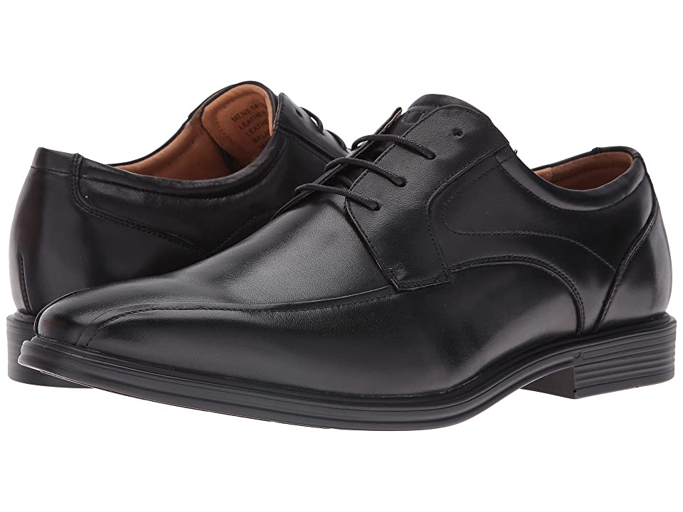 Florsheim Heights Bike Toe Oxford (Black Smooth) Men