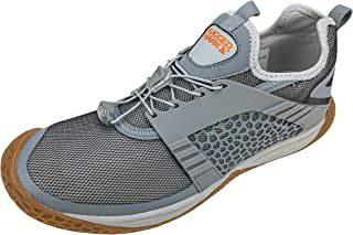 Sponsored Ad - RUGGED SHARK Men's Activewear Athletic Water Shoes, WaterX Men's Drainage with Bungee Lace Up, Sports Water...