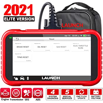 LAUNCH OBD2 Scanner -CRP129E Scan Tool for Eng ABS SRS TCM Code Reader, Oil/EPB/TPMS/SAS/Throttle Body Reset Car Diagnostic Tool with Carry Bag, AutoVIN, WiFi Update,Upgraded of CRP129 2021 New Ver.