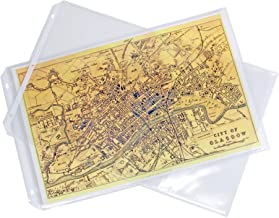 a3 landscape plastic sleeves