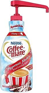 Nestle Coffee-mate Coffee Creamer, Peppermint Mocha, liquid pump bottle, 50.7 Fl. Oz (Pack of 1)