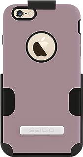 Seidio DILEX 手机壳带金属支架和皮套组合,适用于 Apple iPhone 6 Plus - 黑色BD2-HT2IPH6LK-OC 兰花色