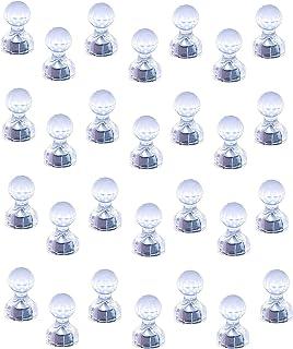 Aimants à poussoir Magnetpro, Paquet de 28 punaises magnétiques puissantes, Aimants parfaits pour tableau blanc, réfrigéra...