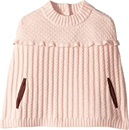 Ruffle Sweater Cape (Toddler/Little Kids/Big Kids)