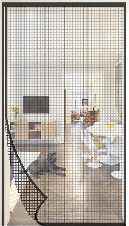 70% OFF Outlet SHRRL Reinforced Magnetic Screen Door 80