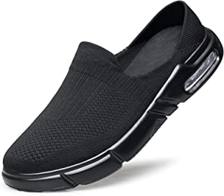 ADQ Mens Slip-On Mules Sneakers Runners Slippers Slides Loafers Air Cushion Casual Lightweight