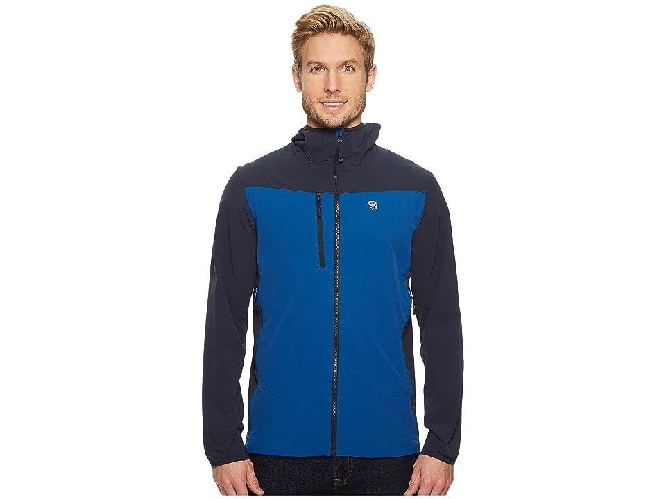 Mountain Hardwear Super Chockstone Hooded Jacket (Nightfall Blue) Men