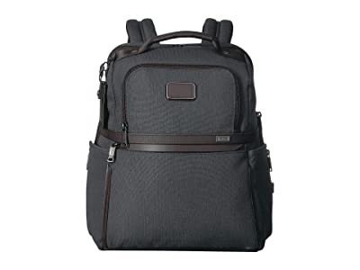 Tumi Alpha 3 Slim Solutions Brief Pack(r) (Anthracite) Backpack Bags