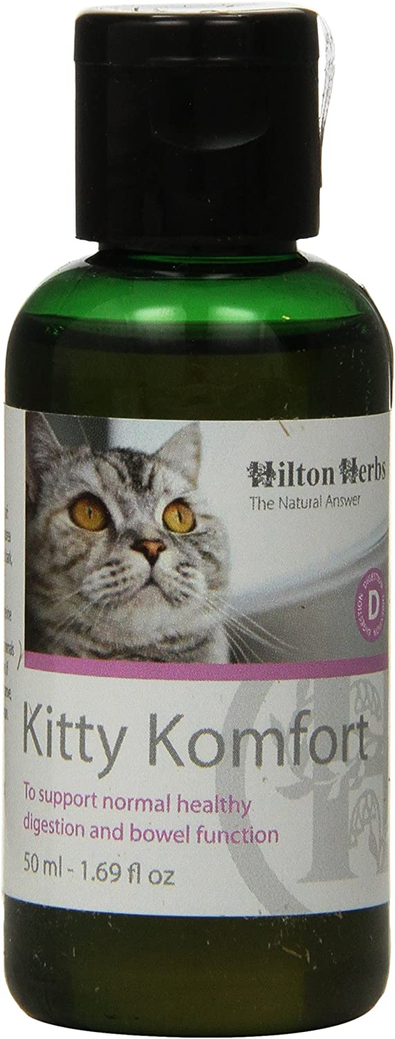 Hilton Herbs Kitty Komfort Herbal Digestive Mail order cheap for Cats Elegant Supplement