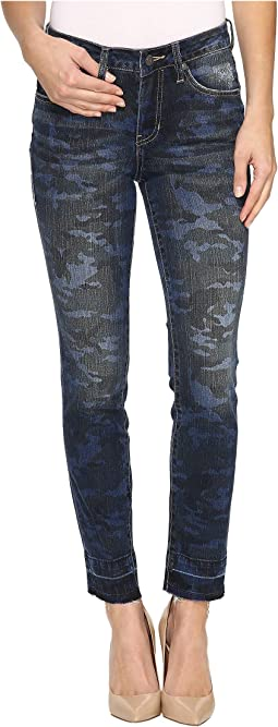 Rochelle Slim Ankle Jeans in Camo Denim