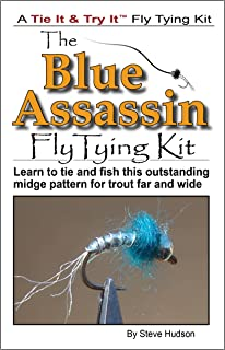 Blue Assassin Fly Tying Book and Kit