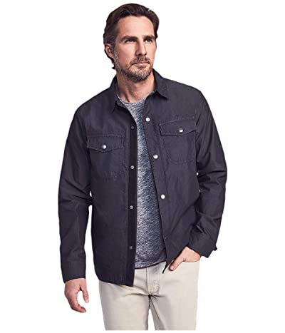 Faherty Cooper Shirt Jacket (Washed Black) Men