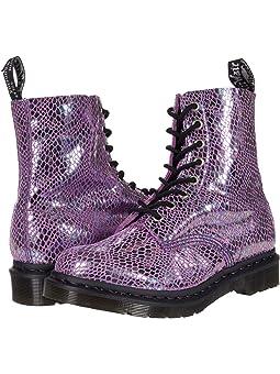 Women's Dr. Martens Purple Shoes + FREE