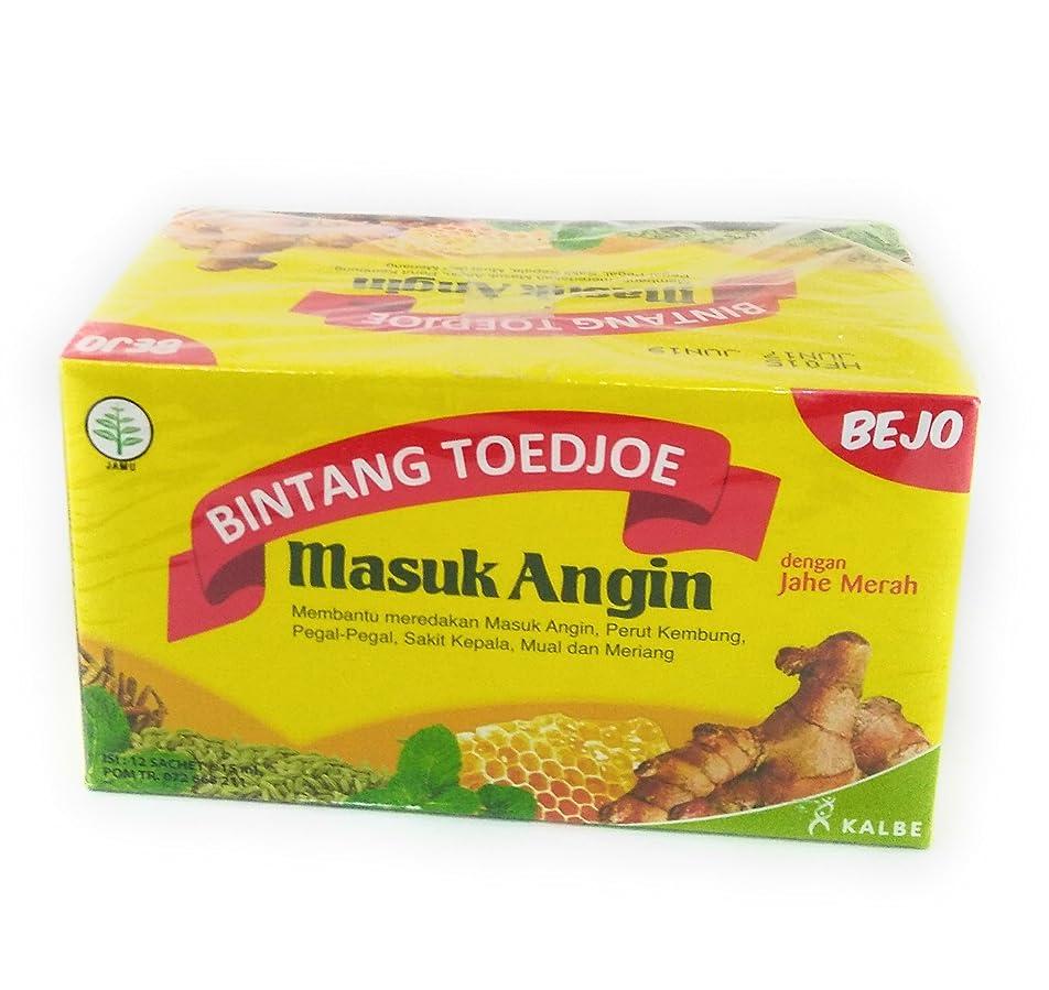 私たちのものながら慣れているBejo Masuk Angin bejoビンタンtoejoe masuk angin 12-ct、180 ml(1パック)