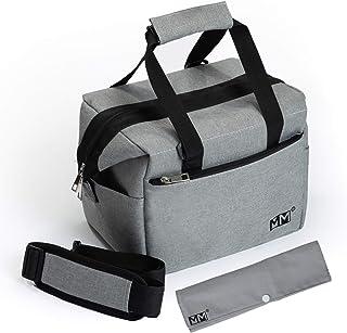 Sac Isotherme Repas,Lunch Box,Avec Range Couverts,MONT MARTIN CONCEPT,Imperméable,Capacité Modulable,Bandoulière Détachabl...
