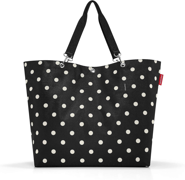Mixed Dots reisenthel shopper XL mixed dots Bolsa de deporte 68 centimeters 35 Negro
