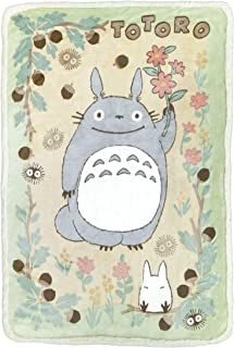 Marushin My Neighbor Totoro Large Plush Blanket Totoro in The Sunny Forest - Official Studio Ghibli Merchandise