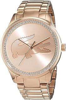 Lacoste Femme Analogique Classique Quartz Montres bracelet avec bracelet en Or Plaqué - 2000973