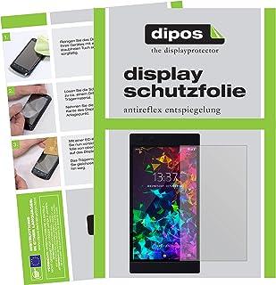 dipos I 6x skärmskydd matt kompatibel med Razer Phone 2 skyddsfilmer