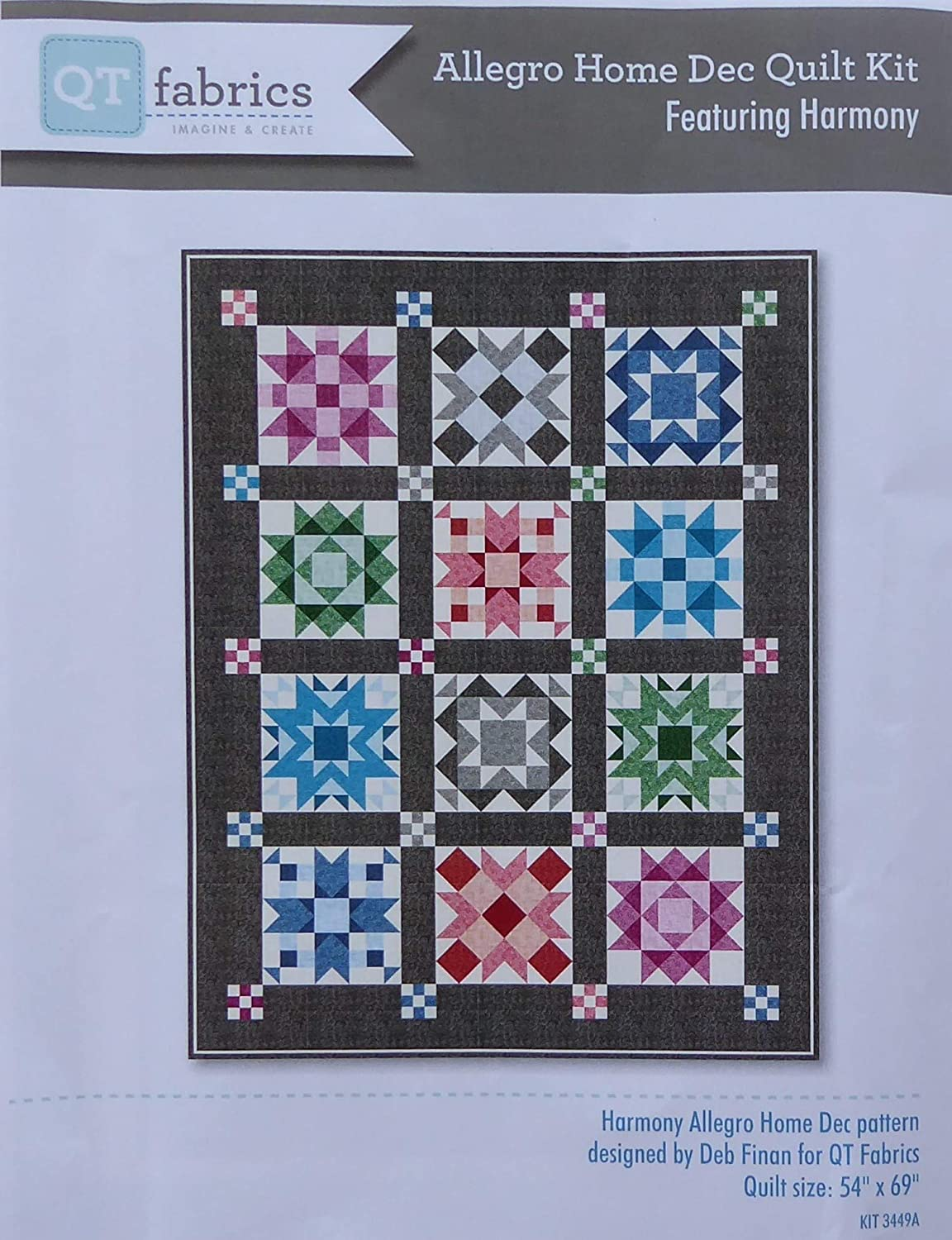 Allegra Home Limited time for free shipping Popular Dec Quilt Kit 54 Treasures x 69