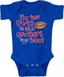 Smack Apparel NY Football Fans. Too Cute. Royal Onesie (NB-18M) or Toddler Tee (2T-4T)