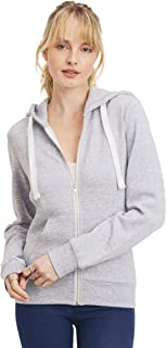 Women's Ultra Soft Fleece Basic Casual Solid Midweight Zip-Up Hoodie Jacket