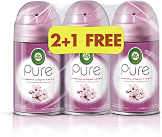 Air Wick Air Freshener Freshmatic Refill Pure Cherry Blossom 250ml Triple Pack