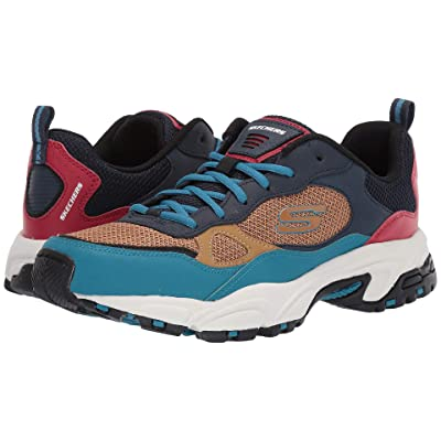 SKECHERS Stamina Bluecoast (Navy/Multi) Men