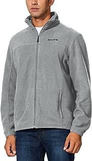 Baleaf Men's Outdoor Fleece Jacket Full Zip Thermal Winterwear