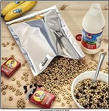(50) 1-Gallon Genuine Mylar Bag + (60) 300cc Oxygen Absorbers for Long Term Food Storage