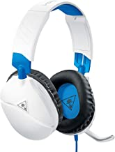 Turtle Beach Recon 70 White Gaming Headset for PlayStation 4 Pro, PlayStation 4, Xbox One, Nintendo Switch, PC, and Mobile - PlayStation 4