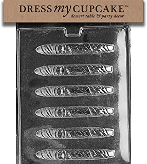 Dress My Cupcake Chocolate Candy Mold, Cigar with Band