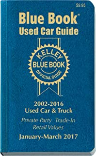 Kelley Blue Book Used Car: Consumer Edition January - March 2017 (Kelley Blue Book Used Car Guide Consumer Edition)