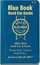 Kelley Blue Book Used Car: Consumer Edition January - March 2017 (Kelley Blue Book Used Car Guide Consumer Edition)
