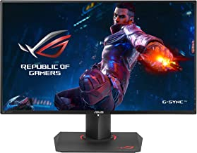ASUS ROG Swift PG279Q 27in 2560x1440 IPS 165Hz 4ms G-SYNC Eye Care Gaming Monitor with DP and HDMI Ports (Renewed)