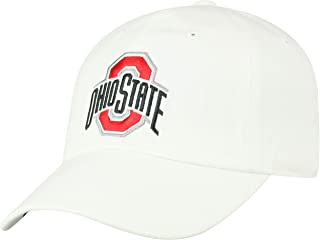 Top of the World NCAA Men`s Hat Adjustable Relaxed Fit White Icon