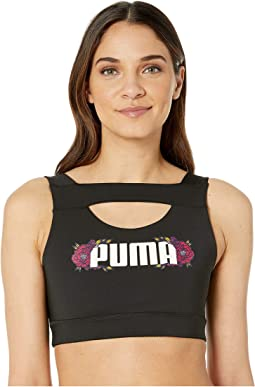 6d57b2a7538cc0 Flourish Crop Top.  26.22MSRP   35.00. Puma Black Cerise