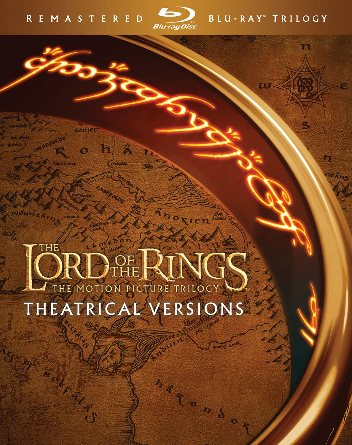 The Lord of the Rings Motion Picture Trilogy (Theatrical Edition)(Blu-ray Remaster)