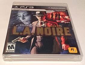 L.A. Noire (Rockstar Games 2009) PS3 2011
