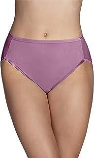 Vanity Fair Women's Illumination Hi Cut Panty 13108, Rosy Glow, Medium (6)