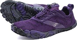 حذاء رياضي للجري للنساء في الهواء الطلق، حذاء تنس عريض واسع للاناث، للتمرين، للرحلات، خمسة اصابع، حذاء رياضي للسيدات، للمش...
