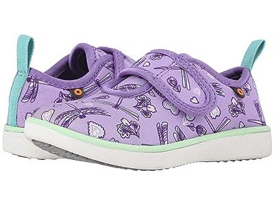 Bogs Kids Kicker Strap Dragonfly (Toddler/Little Kid) (Lavender Multi) Girl