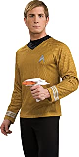 Rubie's Costume Star Trek Into Darkness Deluxe Captain Kirk Shirt With Emblem Costume