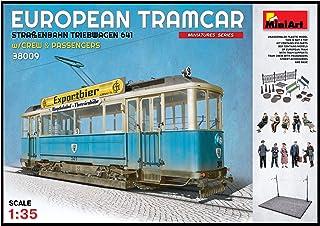 Unbekannt Mini Tipo 38009–Maqueta de European tramcar Brillantes Tren automotor 641con Crew y pasajeros.