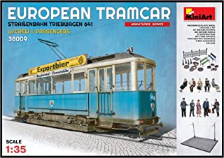 miniart european tramcar