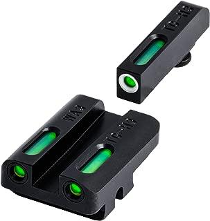 TRUGLO TFX Tritium and Fiber-Optic Xtreme Handgun Sights for Walther Pistols